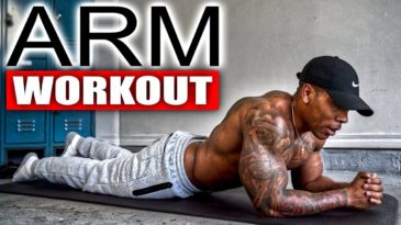 5 Minute Arm Workout Video with Bully Juice / No Equipment needed / Advanced / strong biceps and triceps in a few minutes