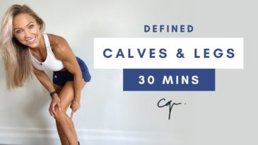 30 Min DEFINED CALVES & LEG WORKOUT at Home with Caroline Girvan / mat optional / beginner, advanced, pro / defined Leg, calves, tights