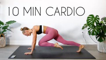 10 MIN CARDIO WORKOUT AT HOME with MadFit / No Equipment needed, mat optional / beginner, beginner, advanced / Full Body Cardio Workout / Burn Calories