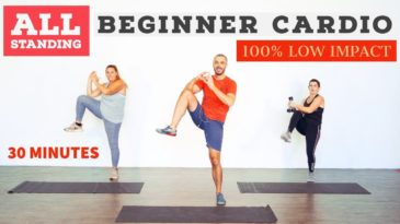 Low impact, beginner, fat burning, home cardio workout with Daniel and the Team of Body Project / No Equipment / Beginner / Full Body Cardio Workout