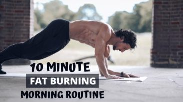 The 10 Minute Fat Burning Morning Routine is a fitness class you can do it every single day. You need no gym, no equipment, only your own bodyweight to get shredded.