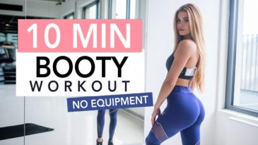 Intense Booty Workout with Pamela Reif