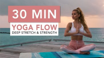 30 MIN Yoga Workout Video with Pamela Reif / Yoga Mat / Beginner friendly / Strength / Stretching / Post Workout / Morning Workout / Before BEDTIME