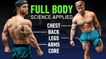 Full Body Workout for muscle growth / Jeff Nippard / Build Muscle / Advanced / Full Body / Science Based / Workout Inspiration