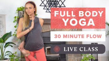 30 Min Full Body Yoga Class | Recharge Yoga / Boho Beatiful / Full Body / For all levels / Recharge / Body & Mind / Energy