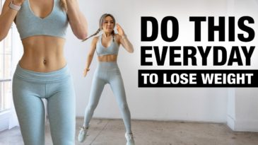 Do This Everyday To Lose Weight with Chloe Ting / 2 weeks shred challange / Mat / Beginner, advanced, Pro / Full Body workout to lose fat and get shred