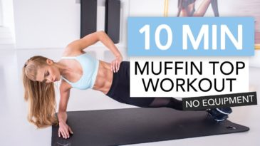 10 MIN Ab Workout Video with Pamela Reif / No Equipment needed / Beginner / Core stability / upper abs / lower abs / side abs