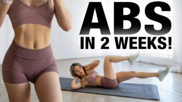 Get Abs in 2 Weeks with Chloe Ting / Abs workout challange / Mat / Beginner, advanced, Pro / defined Abs and Obliques by losing fat