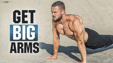 GET BIG ARMS HOME WORKOUT with Igor Voitenko is a training routine to get big and strong arms.