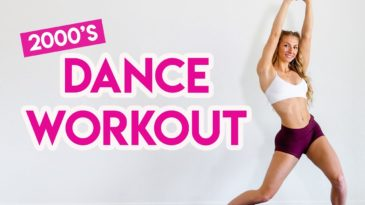 15 MIN DANCE PARTY WORKOUT with Madfit - it is a full body dance cardio routine to music from the 2000's