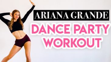 15 MIN DANCE PARTY WORKOUT with Music by Ariana Grande with Madfit - it is a full body dance cardio routine to music by ARIANA GRAND