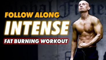 Intense HIIT Follow Along BODYWEIGHT WORKOUT with Frank Medrano / no equipment / ANY fitness level men or Women / HIIT / Bodyweight